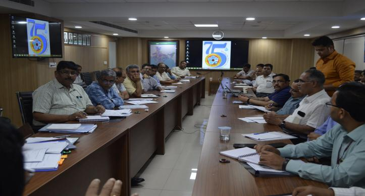 Chairman, CWC meeting with Nodal officers for IWW-2019 (24-28th Sep, 2019) Preparedness for technical sessions